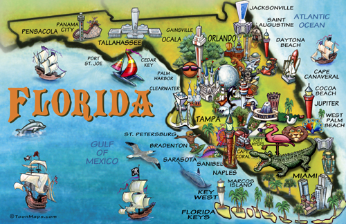 Florida Map Premarital Preparation